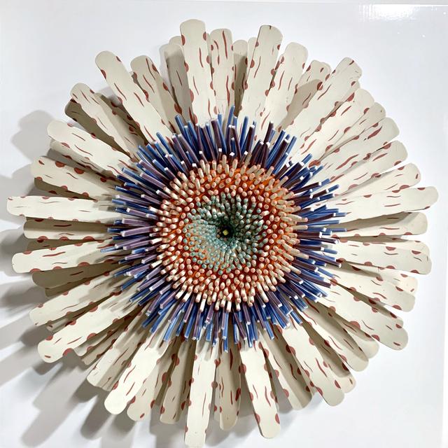 Zemer Peled, 'Shards Flower 24', 2019, Sculpture, Porcelain, Mark Moore Fine Art