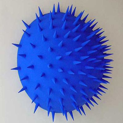 , 'Strike Blue,' 2003, Art Mûr