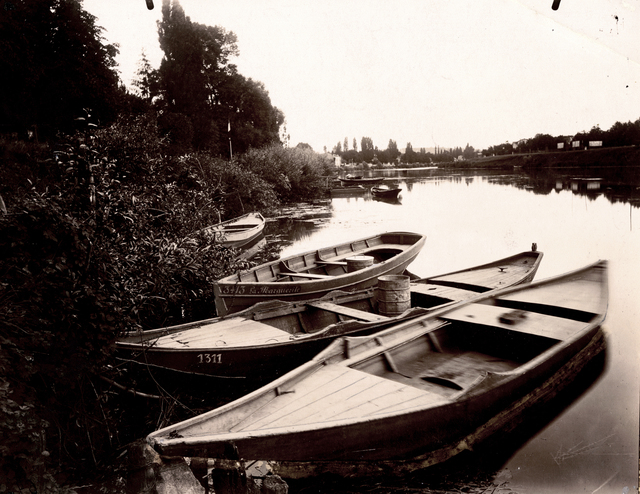 , 'Bords de Marne (Barques), Le Perreux (Seine),' 1903, Contemporary Works/Vintage Works