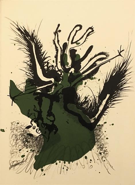 Paul Rebeyrolle, 'From 'Derrière Le Miroir - Rebeyrolle'', 1969, Eames Fine Art