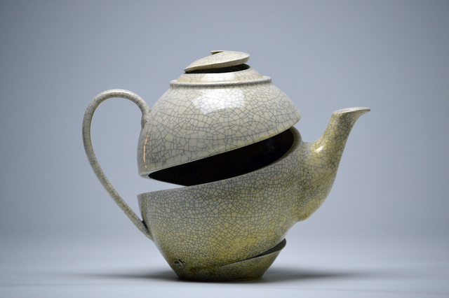 , 'Spatial Spiral: Old English Teapot,' 2017, Lyons Wier Gallery