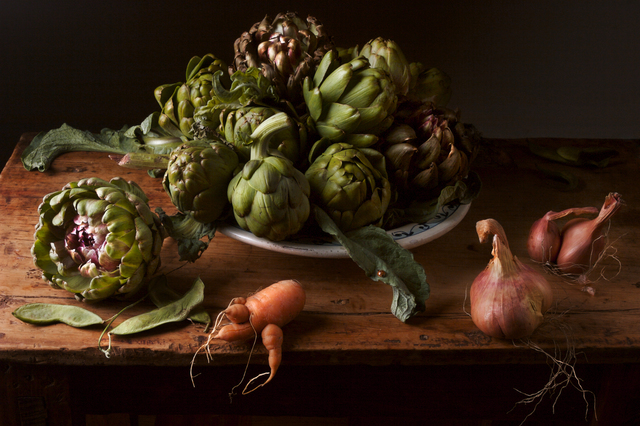 , 'Artichokes, after J.V.H,' 2008, Robert Mann Gallery