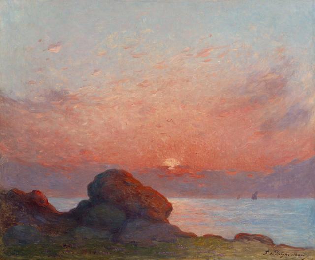 , 'Coucher de soleil sur la mer,' , Connaught Brown