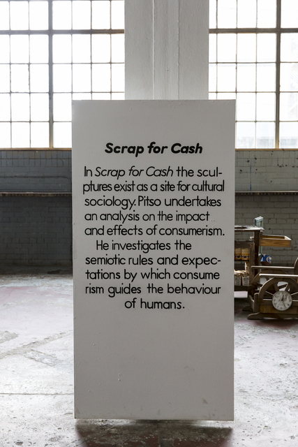 Thabo Pitso, 'Scrap for Cash', 2015, Museum of African Design (MOAD)