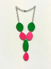 , 'Pink & Green Necklace,' 2015, Pan American Art Projects