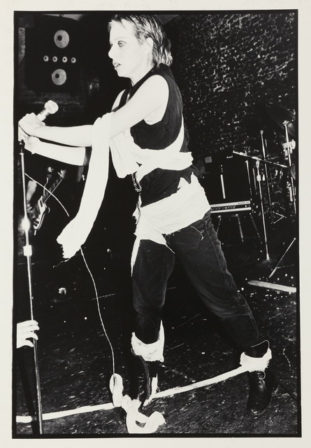 , '27 PUNK PHOTOS: 19. DE DETROIT: UXA JULY 10, 1978,' 2004, Anglim Gilbert Gallery