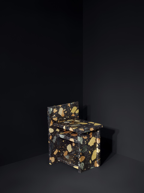 , 'Marmoreal Storage Stool,' 2015, dzek