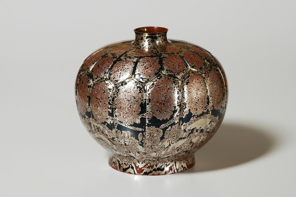 Mokume-gane Vase 074