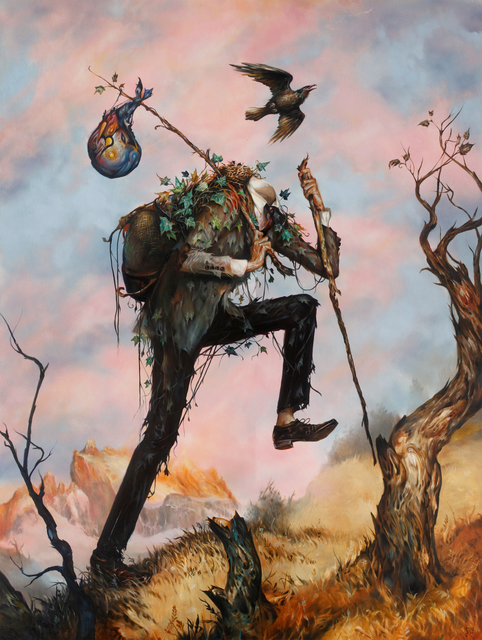 , 'The Hiker,' 2014, Jonathan LeVine Projects