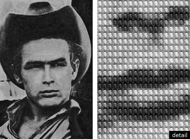 , 'JAMESDEAN vs ELVIS,' 2009, Contessa Gallery