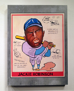 , 'Jackie Robinson,' 2014, Jonathan LeVine Projects