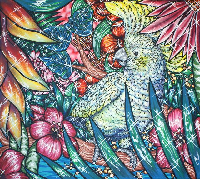 , 'Flamingo Lagoon 6,' 2017, Kolja Kramer Fine Arts