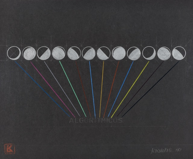 , 'Algoritmicos,' 1981, Henrique Faria | Buenos Aires