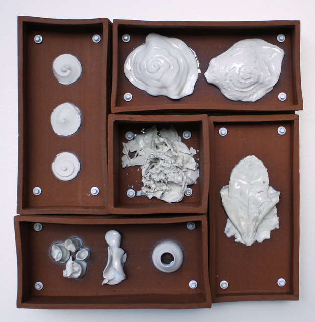 Evan Blackwell, 'Relics of Experience: Spiral Leaf', 2014, Sculpture, Ceramic, Foster/White Gallery