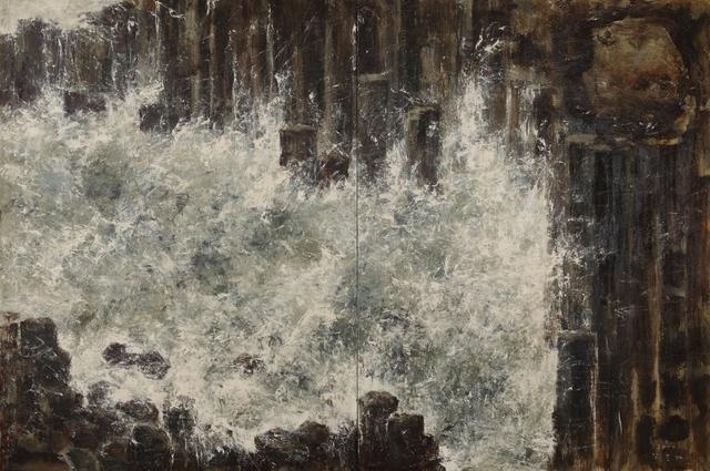 Kang Yobae, 'Wave and Rock Columns', 2011, Hakgojae Gallery