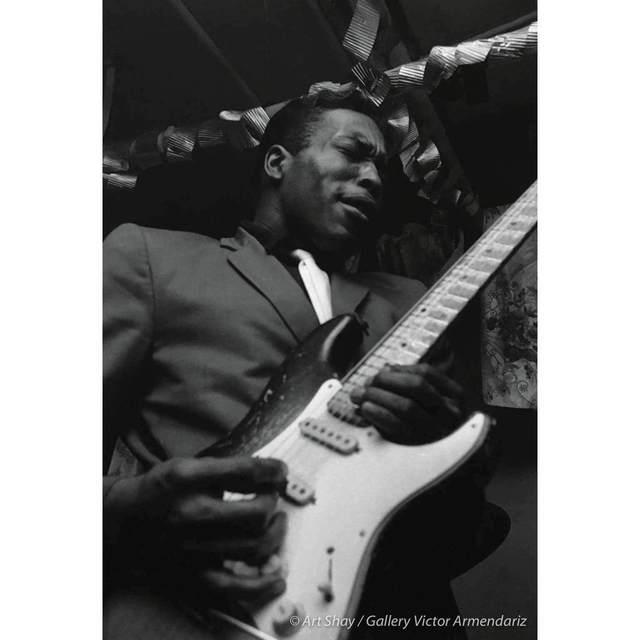 , 'Buddy Guy, Blues Guitarist, 1966,' 2017, Gallery Victor Armendariz