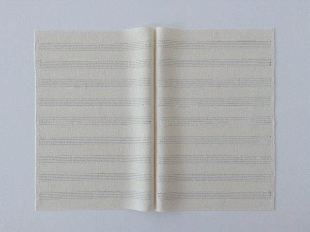 , 'Music Manuscript,' 2016, Lisa Kehler Art + Projects