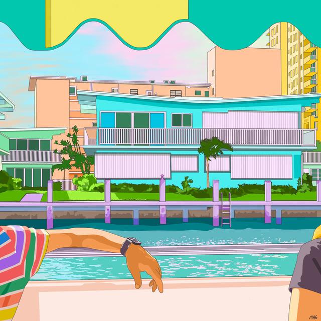 , 'Dream Boat,' 2018, Vellum Projects