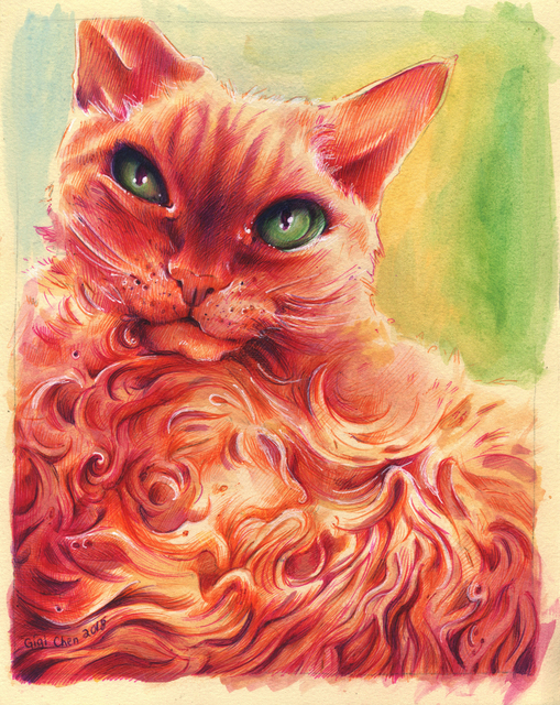, 'Fire Cat ,' 2018, Deep Space Gallery