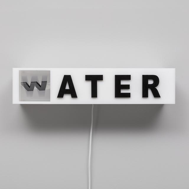 , 'Water Mater,' 2018, Carbono Galeria