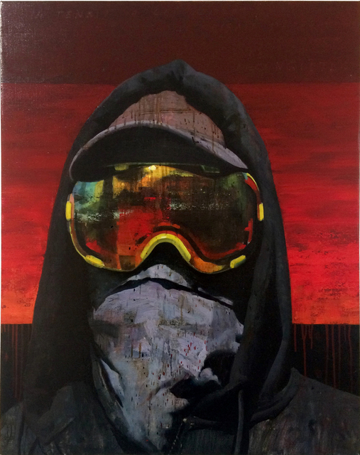 , 'Black Bloc,' 2018, Galerie Olivier Waltman | Waltman Ortega Fine Art