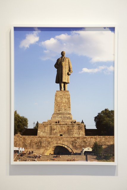 , 'Monumental Bling: Lenin East Berlin on Lenin Volgograd 3,' 2013, Jane Lombard Gallery
