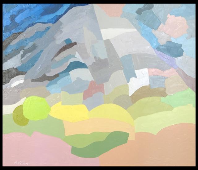 , 'Mount Tamalpais,' 1985, The Sursock Museum