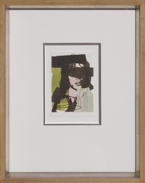 , 'Mick Jagger, 1975-07,' 1975, HOHMANN