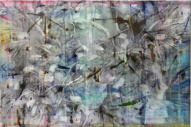 , 'Katagami 4,' 2015, Galerie Andreas Binder