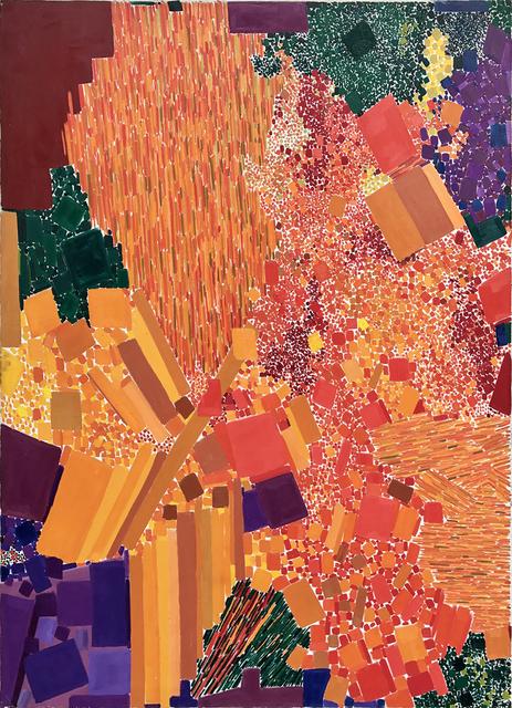 Lynne Drexler, 'Fire Bush', 1963, Painting, Oil on canvas, Jody Klotz Fine Art