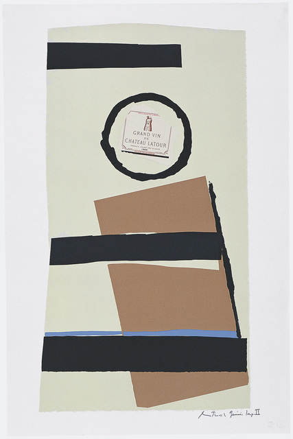 , 'Summer Light Series: Pauillac, #1,' 1973, Dedalus Foundation