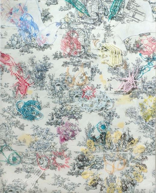 , 'Biddles Toile,' 2012, Susan Eley Fine Art