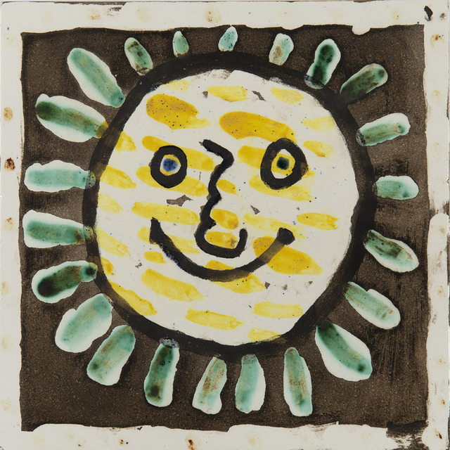 Pablo Picasso, 'Visage soleil', 1956, HELENE BAILLY GALLERY