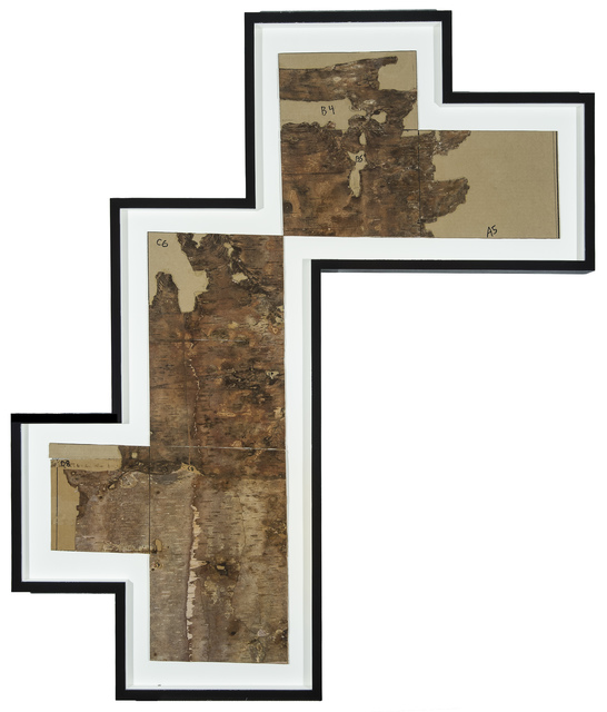 , 'Bark Framed #1,' 2012, Tayloe Piggott Gallery
