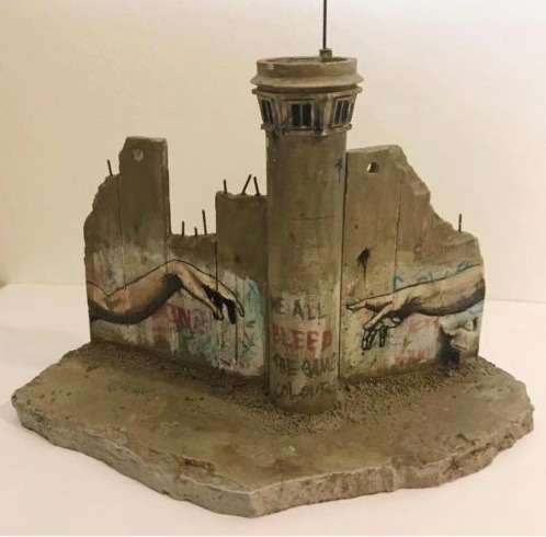 Banksy, 'Souvenir Wall Section tower', Dope! Gallery