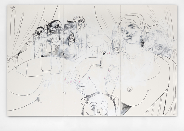 , 'Large Figure Composition,' 2008, Simon Lee Gallery