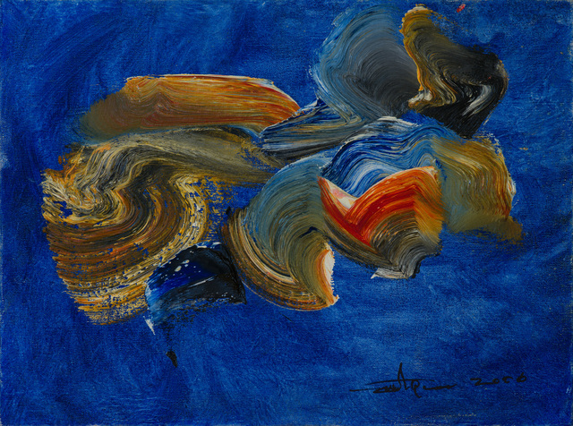 , 'color composition ,' 2006, Eye For Art Houston