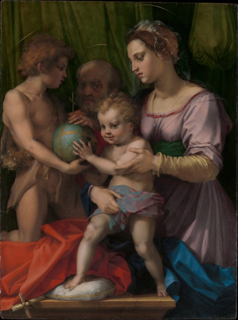Andrea del Sarto, 'The Holy Family with the Young Saint John the Baptist', The Metropolitan Museum of Art
