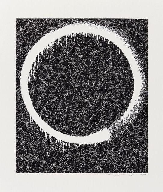 Takashi Murakami, 'Ensō: Facing the Pitch-black Void', 2018, Roseberys