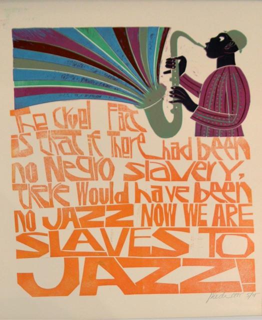, 'Slaves to jazz,' 1995, Waterhouse & Dodd