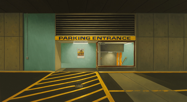 , 'Parking entrance (Westwind),' 2016, Galerie D'Este