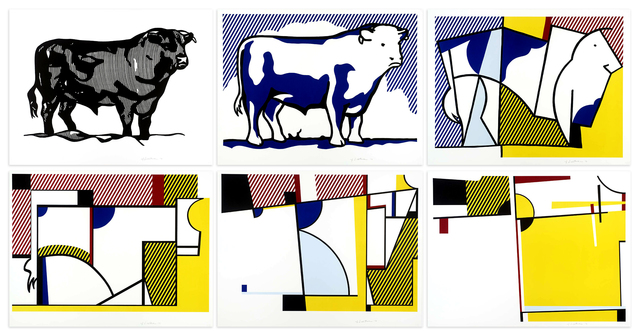 , 'Bull Profile Series,' 1973, Mary Ryan Gallery, Inc