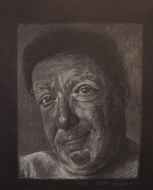 Glenn Goldstein, 'Portrait in White Pastel', 2016, Fountain House Gallery