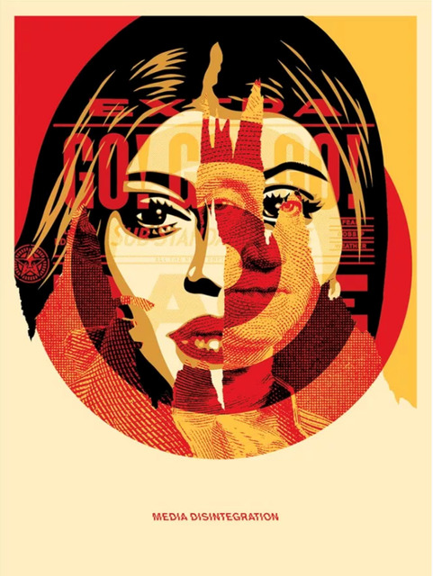 Shepard Fairey, 'Obey Media Target', 2016, Art for ACLU Benefit Auction