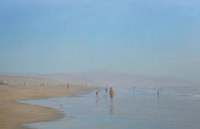 Willard Dixon, 'Hazy Beach', 2017, Andra Norris Gallery