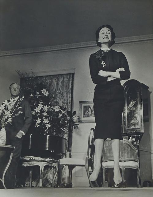Philippe Halsman, 'Duke Watching the Dutchess of Windsor Jumping, (From Jump Series)', 1956, Waddington's