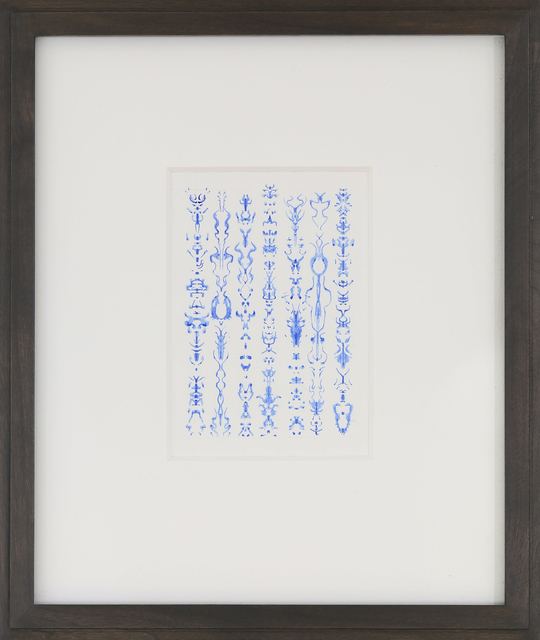 , 'Untitled Inkblot Drawing,' 2007, Anglim Gilbert Gallery