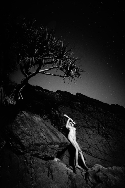 , 'Moonrise, Byron Bay Australia,' 2015, LAMB Arts