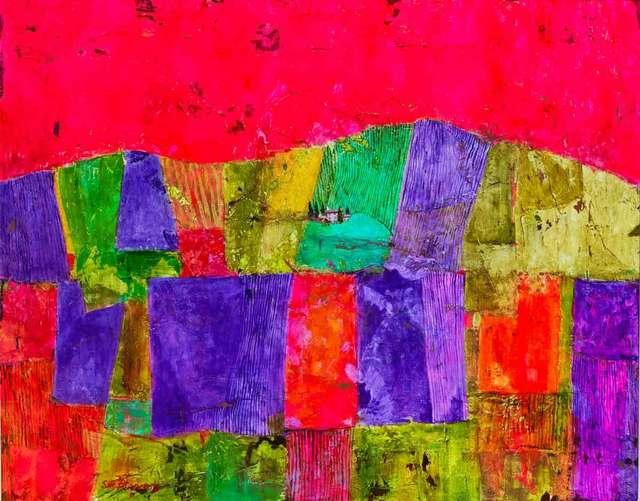 , 'Lavender Fields near Mont Ventoux,' 2017, Catto Gallery