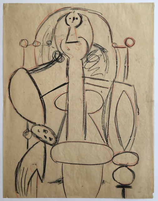 Pablo Picasso, 'Woman in an Armchair', 1947, MICHALI GALLERY